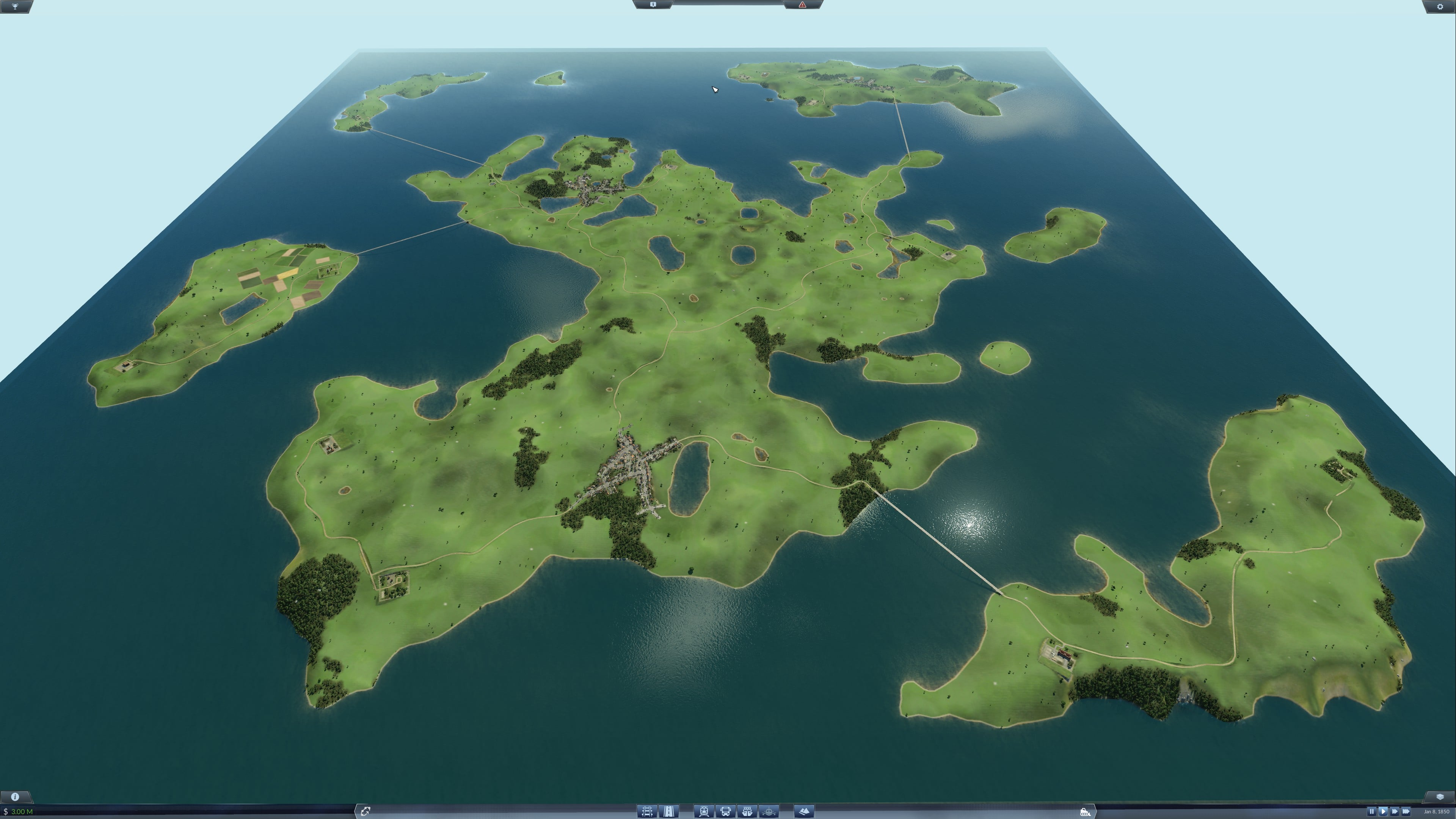 The Islands - A fictional map featuring islands - Downloads - Train ...