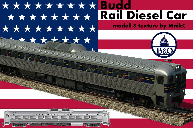 budd rail diesel car baltimore ohio downloads train fever transport fever railway. Black Bedroom Furniture Sets. Home Design Ideas