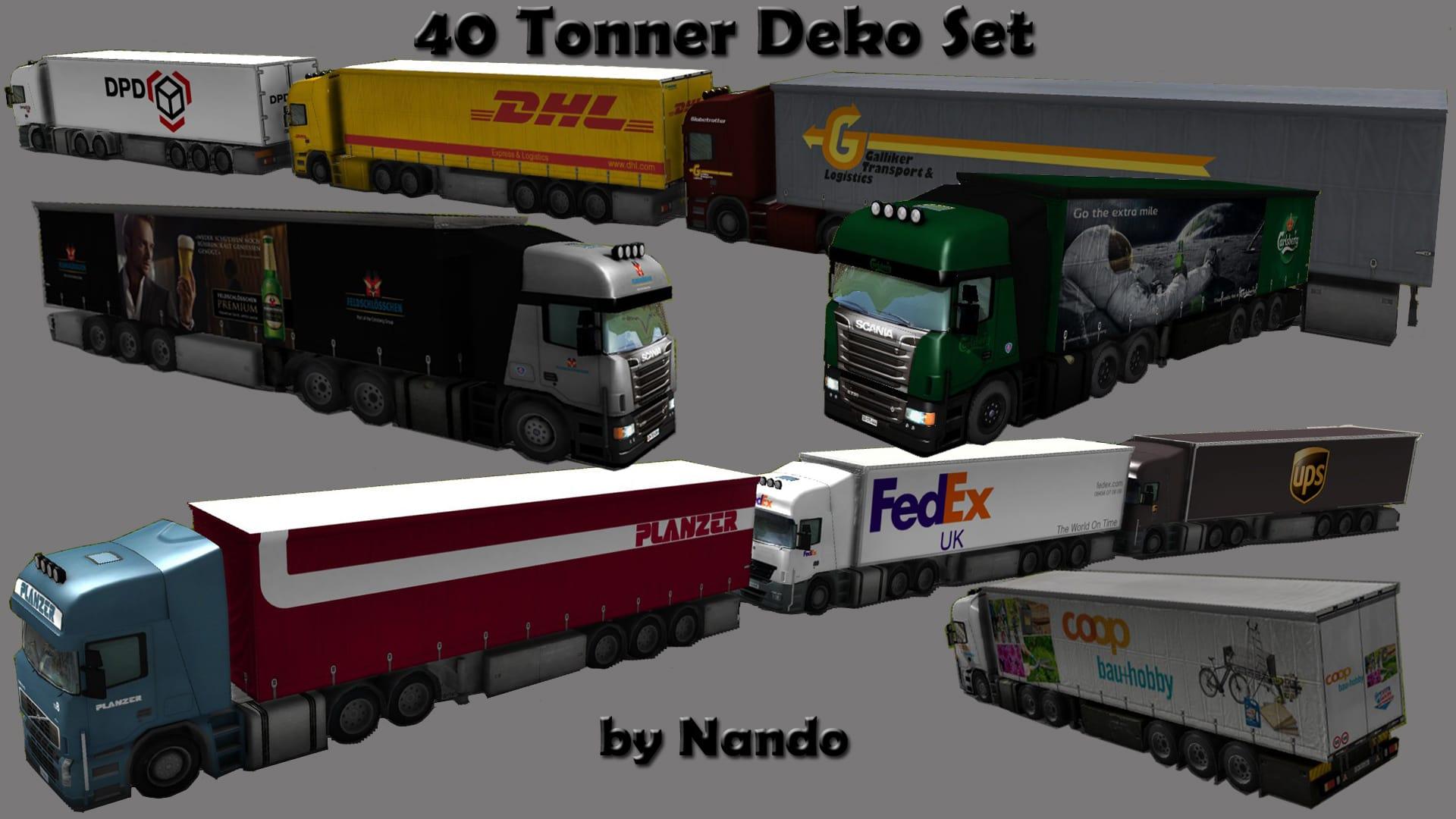 40 tonner lkw asset deko set downloads train fever transport fever railway empire community. Black Bedroom Furniture Sets. Home Design Ideas