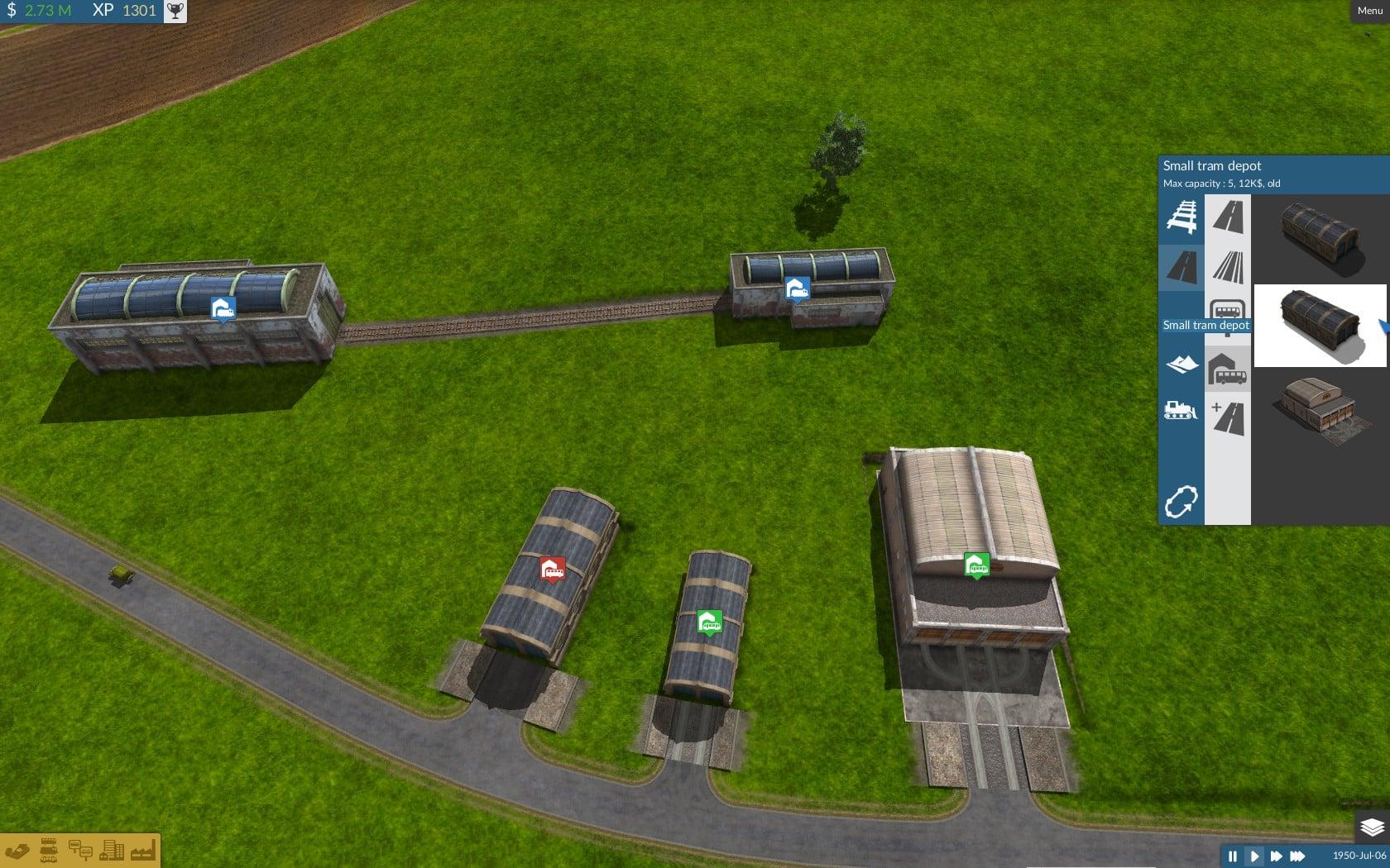 Road refinements downloads train fever transport for Depot kamen