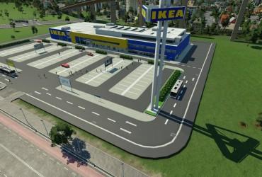 IKEA als Bushaltestelle und Cargo-Station