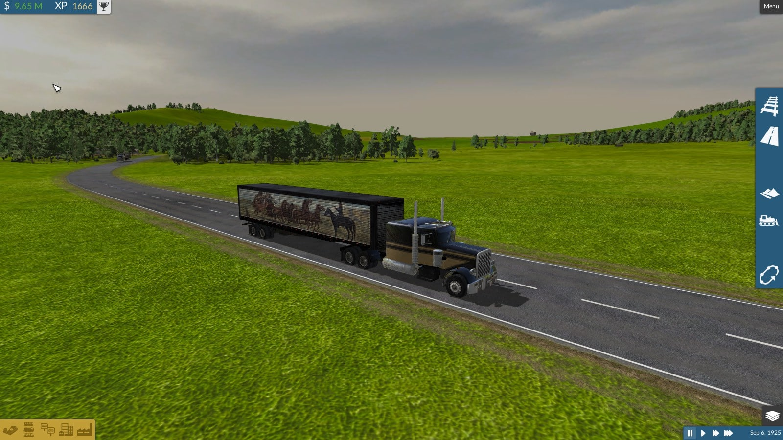 Peterbilt 359 Bandit - Downloads - Train Fever / Transport