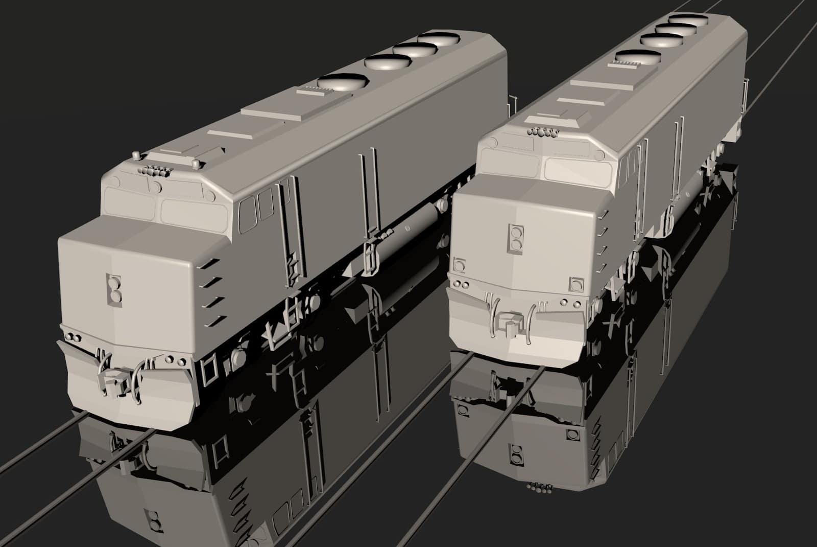 EMD F40PH Amtrak Phase II+III - Downloads - Train Fever ... on