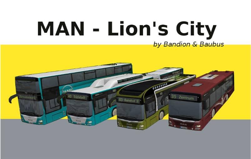 MAN Lion's City Set - Downloads - Train Fever / Transport