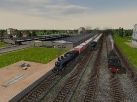 Region traubland gallery train fever transport fever for Depot neutraubling