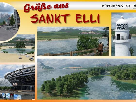 Postkarte St Elli