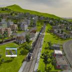 Zug kommt wieder in Farnsworth-Branch an
