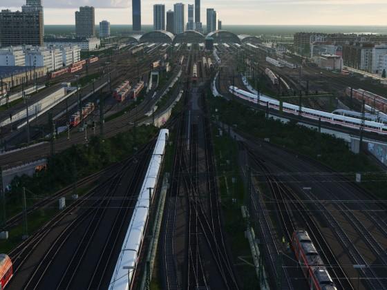 Frankfurt (Main) Projekt - 1.Timelaps vom Bahnhofsverkehr in Arbeit!