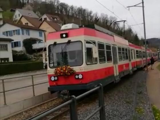 Letzte Fahrt der Waldenburgerbahn sie war die schmalste Schmalspurbahn der Schweiz