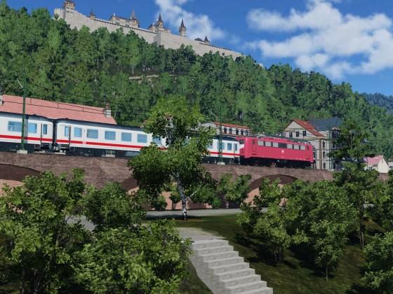 Linke Rheinstrecke