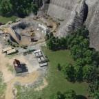 02 Luftaufnahme vom Steinbruch Graue Wand