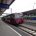 Schienenbus in Göppingen