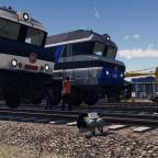 CC 72000 at the depot