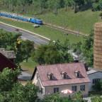 Klusbahn und Bauernhof