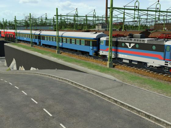 Swedish Intercity train