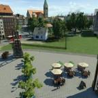 Blick auf den Altstadtkern
