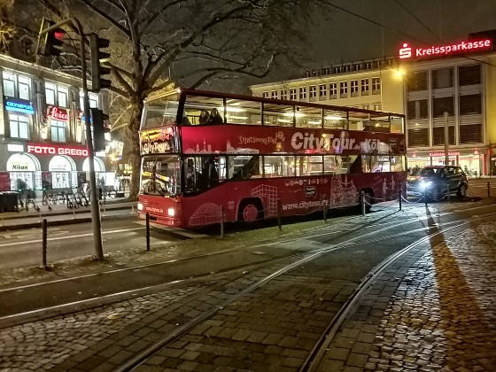 Ein SD202 am Kölner Neumarkt.