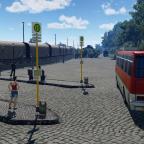 Bushaltestellen Früher