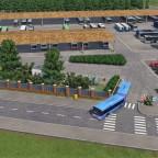 Omnibusbetriebshof der öffentlichen Verkehrsbetriebe Freifeld