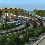 U-Bahn Betriebswerk Wolkenhausen 2