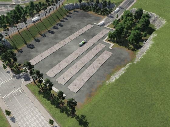 Neue Truck Station