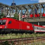 [TpF1] ÖBB 1116 leaving the city main station