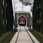 "ÖBB 4010.001 am Portal des ""Burgtunnels"""