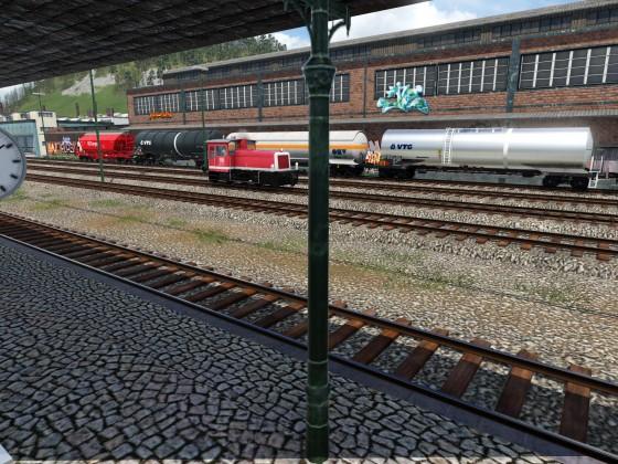 Am Zauchwitzer Bahnhof