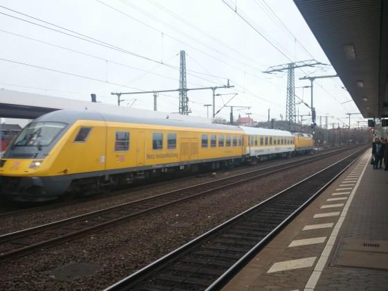 RailLab 1 in Fulda bei der Durchfahrt
