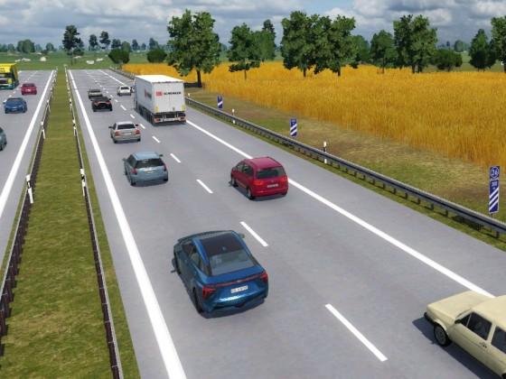 Autobahn Diorama 2