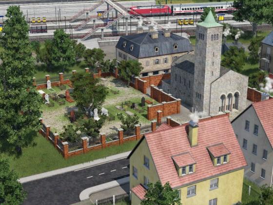 Das Zentrum der Gemeinde