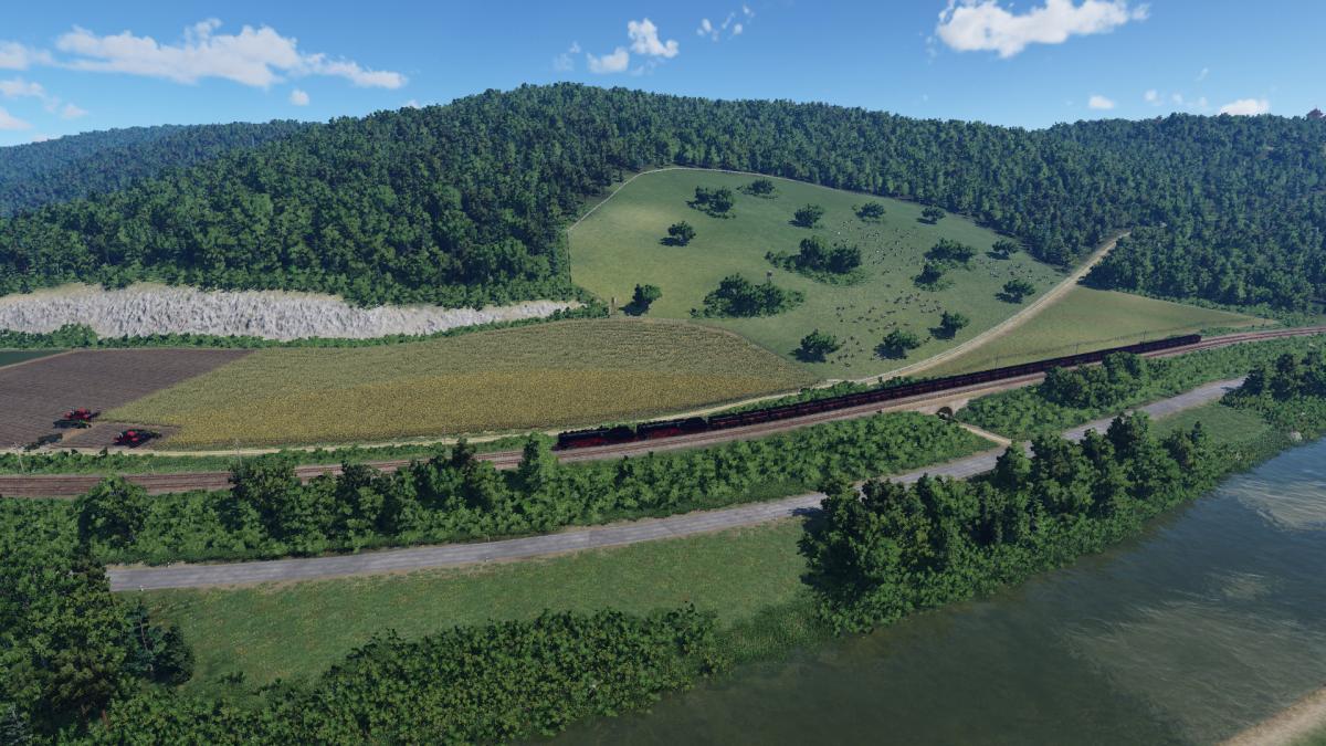 Strecke Neustadt - Laubtal 1