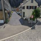 Kleinstädtische Fußgängerzone
