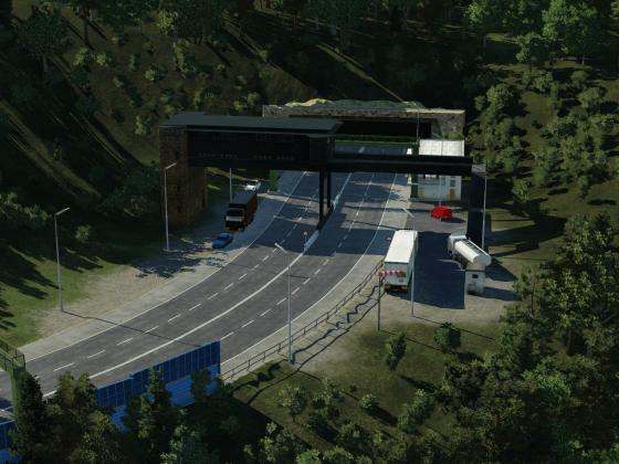 Godbachtunnel Nord [Fiktiv]