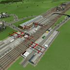 Der Güterbahnhof ist Fertig! 1/2