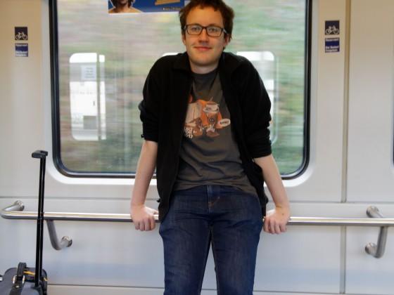 Hilfe! Ein Dino im Zug :P