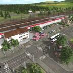 Bahnhof Waldkraiburg
