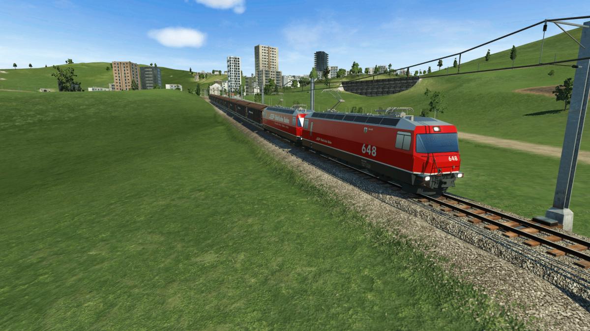 Meterspuriger Güterverkehr