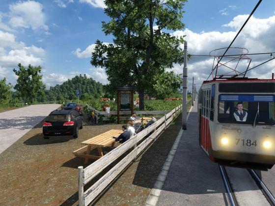 Eindrücke der Überlandbahn