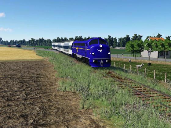 i drift på Gedserbanen i juli 2007 (II)