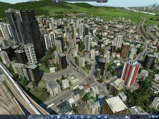 Stadtzentrum mit ÖPNV auf einer Rate von 86 %