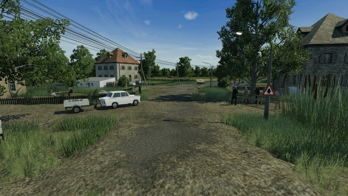 Ortsausfahrt Klein Lüben
