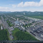Ansicht der ersten Stadt