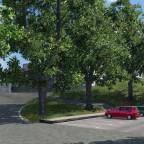 Parkplatz Süd