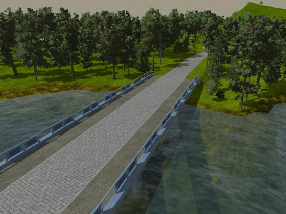 Good use of my walkway mod - Park
