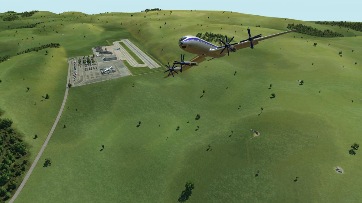 Historische Flugshow vom Luftfahrt-Museum Neustadt(Saale)