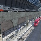 Central Station with Underground  High speed section