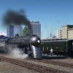 Super Hudson leaving the station