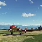 Douglas DC-3 awaiting flight