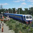 [TpF1] ED9M near the half-abandoned railway platform